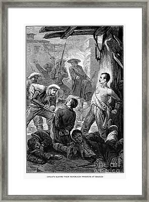 Spain: Second Carlist War Framed Print by Granger