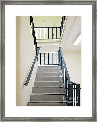 Staircase Framed Print by Andersen Ross