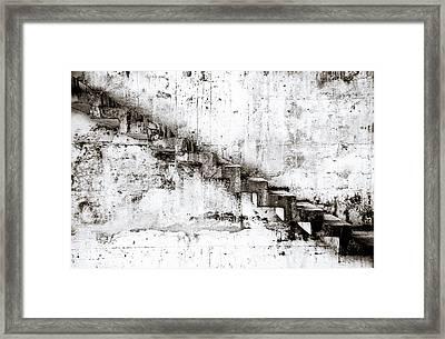 Stairs Framed Print by Niels Nielsen