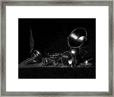 Still Life Framed Print by Norbert Varga