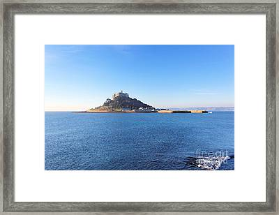 St.michael's Mount Framed Print by Carl Whitfield