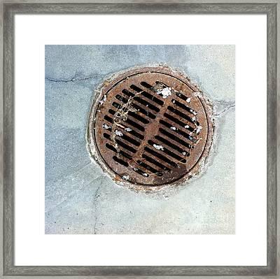 Streets Of La Jolla 6 Framed Print by Marlene Burns