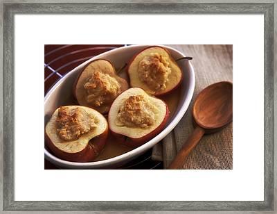 Stuffed Baked Apples Framed Print by Joana Kruse