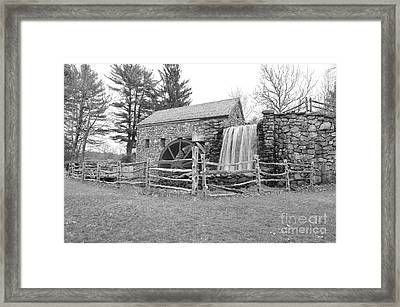 Sudbury Grist Mill  Framed Print by Catherine Reusch  Daley