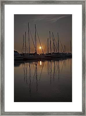 Sunset Framed Print by Joana Kruse
