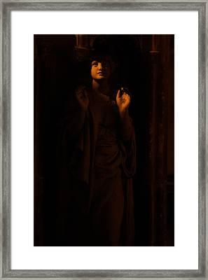 Supplication Framed Print by Lisa Knechtel