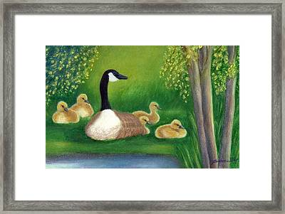 Sweet Repose  Framed Print by Jeanne Kay Juhos