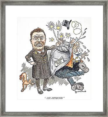 T. Roosevelt Cartoon Framed Print by Granger