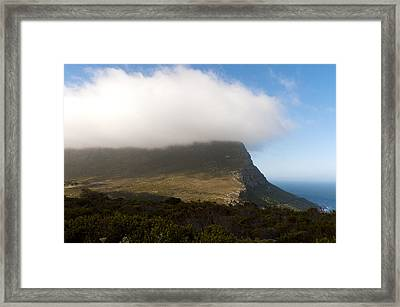 Table Mountain National Park Framed Print by Fabrizio Troiani