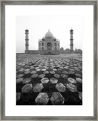 Taj Mahal Framed Print by Nina Papiorek