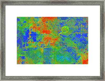 Tectonic Shift Framed Print by Christopher Gaston