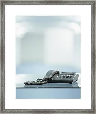 Telephone Framed Print by Adam Gault