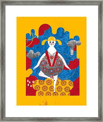 That Dress Looks Nice On You Framed Print by Luciano Lozano