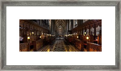 The Altar Framed Print by Adrian Evans