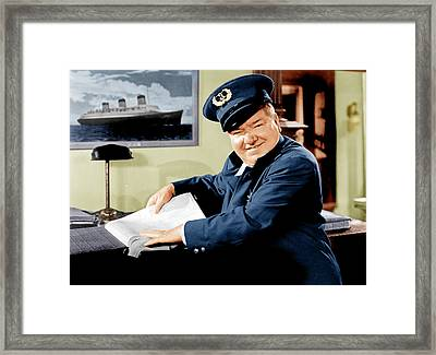 The Bank Dick, W.c. Fields, 1940 Framed Print by Everett