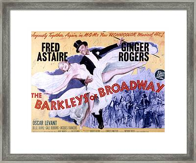 The Barkleys Of Broadway, Fred Astaire Framed Print by Everett