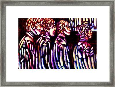 The Beatles Framed Print by Giuliano Cavallo