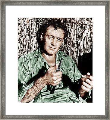 The Bridge On The River Kwai, William Framed Print by Everett