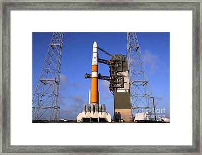 The Delta Iv Rocket That Will Launch Framed Print by Stocktrek Images