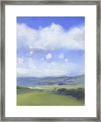 The Distance Framed Print by Alan Daysh