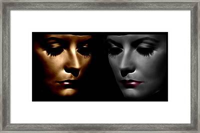 The Divine Framed Print by Stefan Kuhn