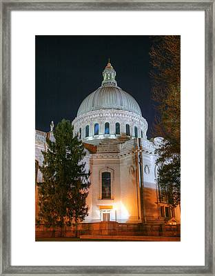 The Dome Framed Print by JC Findley