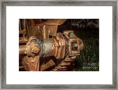The Driven Framed Print by The Stone Age