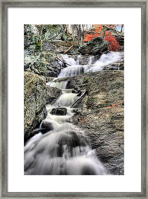 The Falls Framed Print by JC Findley