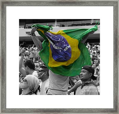 The Fan II Framed Print by Lee Dos Santos