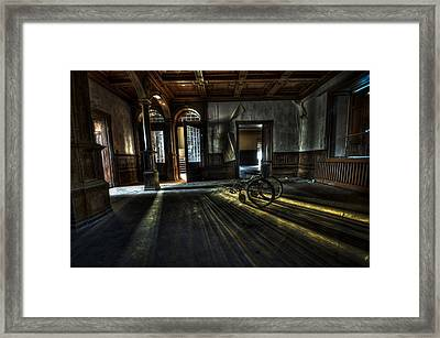 The Home Framed Print by Nathan Wright