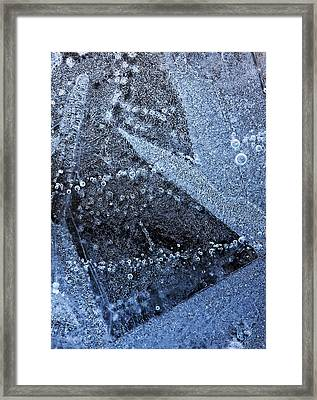The Ice Framed Print by Odon Czintos
