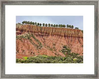 The Imlil Valley, Morocco Framed Print by Bob Gibbons