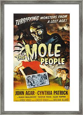 The Mole People, 1956 Framed Print by Everett