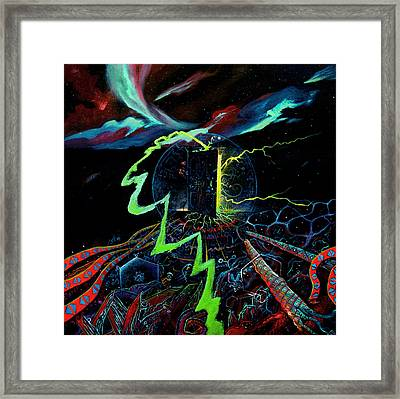 The Navigator Part 3 Framed Print by Steve Griffith