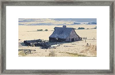 The Old Barn Framed Print by Steve McKinzie