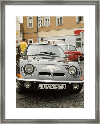 The Old Opel Framed Print by Odon Czintos