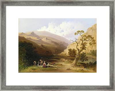 The Pioneers Framed Print by Joshua Shaw