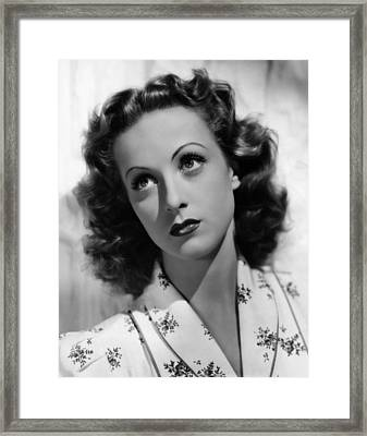 The Rage Of Paris, Danielle Darrieux Framed Print by Everett