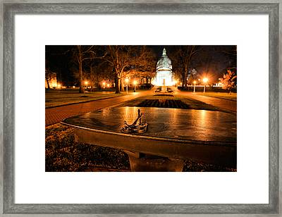The Sundial Framed Print by JC Findley