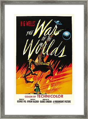 The War Of The Worlds, 1953 Framed Print by Everett