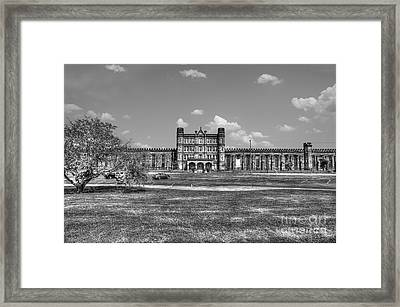The West Virginia State Penitentiary Front Framed Print by Dan Friend