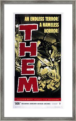 Them, 1954 Framed Print by Everett