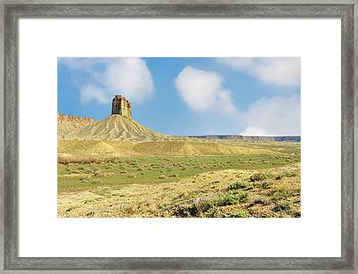 This Is Colorado No. 4d - Mancos Canyon Framed Print by Paul W Sharpe Aka Wizard of Wonders