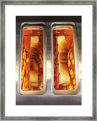 Toast Framed Print by Mark Sykes