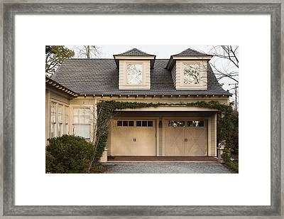 Traditional Residential Home And Double Framed Print by Roberto Westbrook
