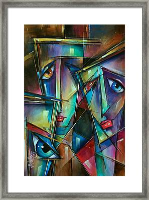Trio Framed Print by Michael Lang