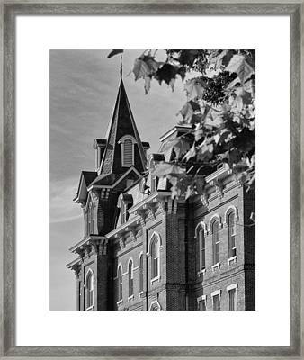 University Hall Framed Print by Coby Cooper