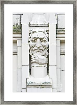 University Of Washington Exterior Artwork Framed Print by Rob Tilley