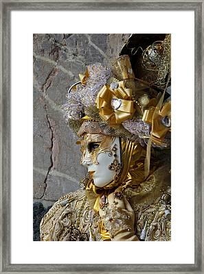 Venice Carnival Framed Print by Cedric Darrigrand