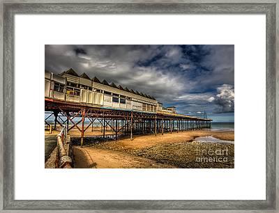 Victoria Pier Framed Print by Adrian Evans